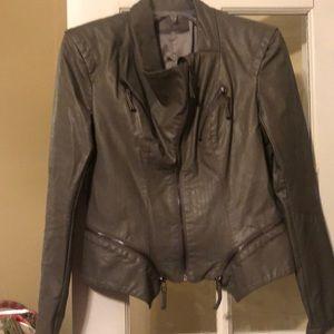 Blank nyc size small grey jacket